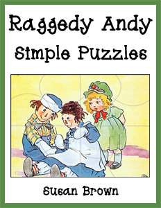 Raggedy Andy Simple Puzzles