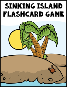 Sinking Island Flashcard Game cover Currclick