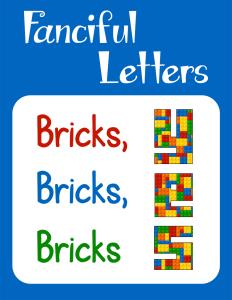Fanciful Letters Bricks Bricks Bricks cover Currclick