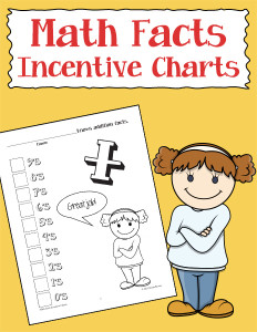 Math Facts Incentive Charts 600h