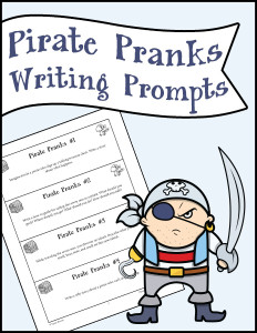 Pirate Pranks Writing Prompts 600h