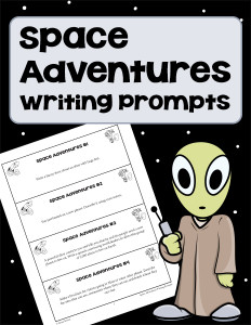 Space Adventures Writing Prompts 600h