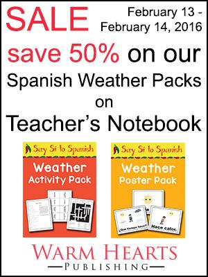 Teachers Notebook Feb 2016 sale