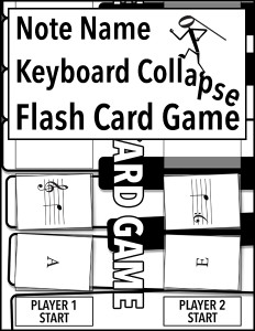 Note Name Keyboard Collapse Flash Card Game 600h