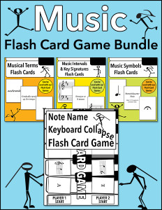 Music Flash Card Game Bundle cover 600h