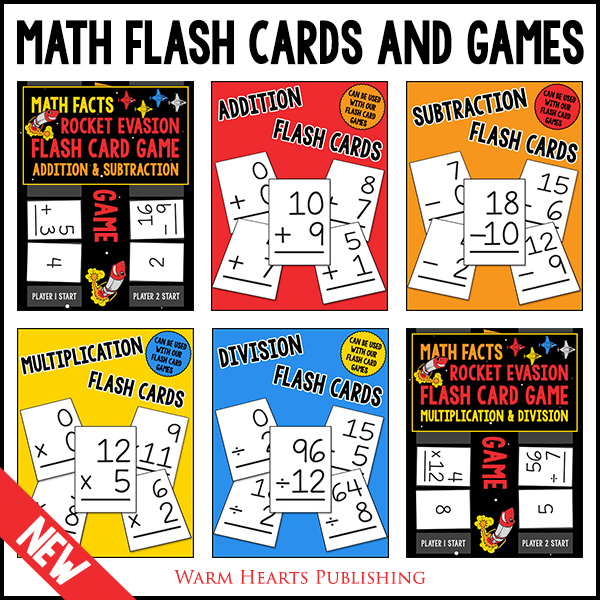 Math Facts Flash Cards and Games