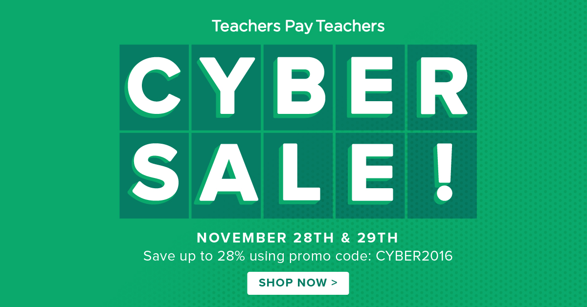 TPT Cyber Sale