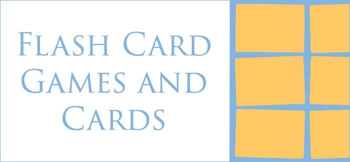 Flash Card Games and Cards