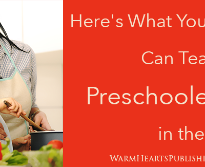 Here's What You Can Teach Your Preschooler in the Kitchen