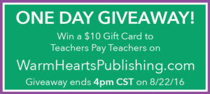One Day Giveaway! Enter to Win a $10 TPT Gift Card