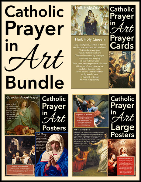 Catholic Prayer in Art