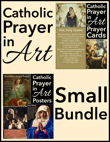 Catholic Prayer in Art Small Bundle