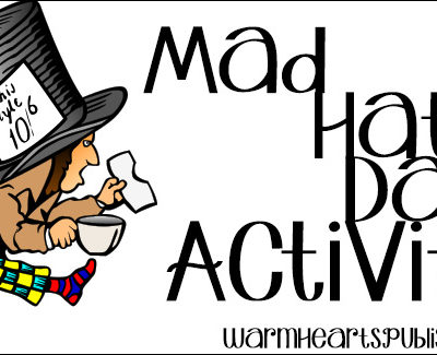Mad Hatter Day Activities