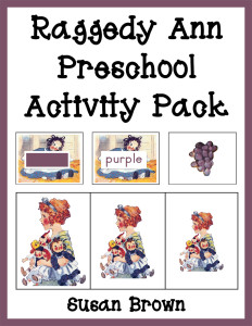 Raggedy Ann Preschool Activity Pack cover 2 Currclick