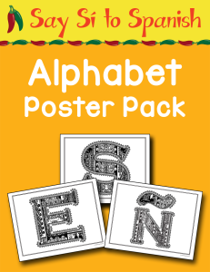 Alphabet Poster Pack cover Currclick