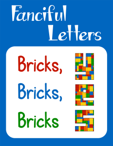 Fanciful Letters Bricks Bricks Bricks cover Currclick