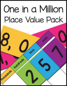 One in a Million Place Value Pack