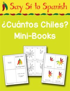 Cuantos Chiles Mini Books