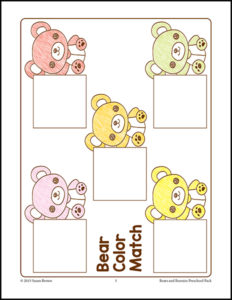 Bears and Bunnies cover 1