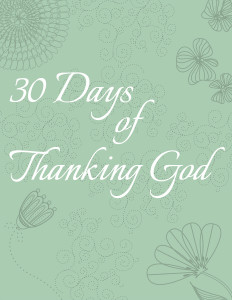 30 Days of Thanking God 600h