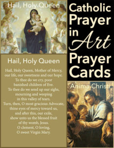 Catholic Prayer in Art Prayer Cards