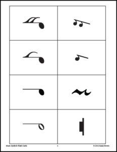 Music Symbols Flash Cards image 2