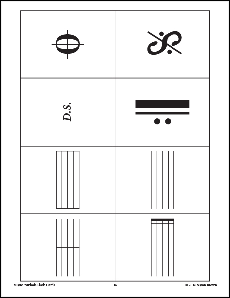 Persnickety image regarding free printable music flashcards