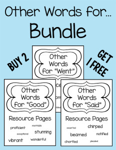 Other Words for Bundle 600h