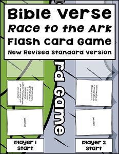 Bible Verse Race to the Ark Flash Card Game 600h