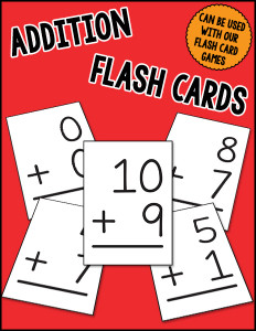 Addition Flash Cards cover 600h