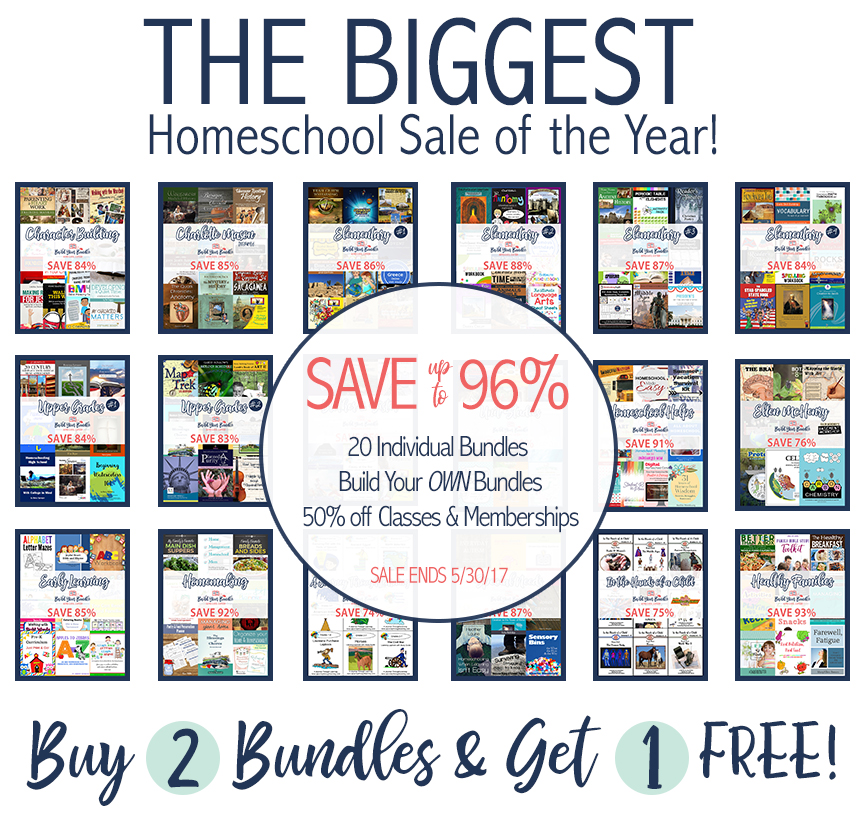 Build Your Bundle Sale