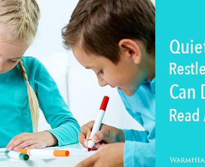 Quiet Activities Restless Children Can Do During Read Aloud Time