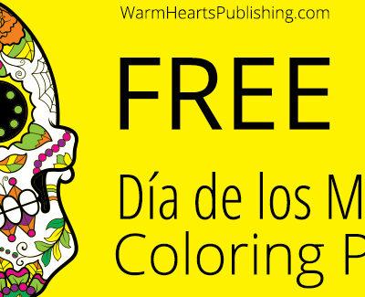 Free Día de los Muertos Coloring Pages