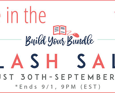 We're in the 2017 Build Your Bundle Flash Sale!