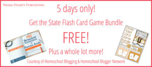 5 Days Only – Get the State Flash Card Game Bundle Free!