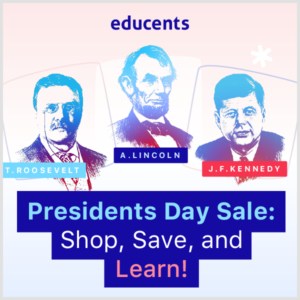 Picture of presidents - President's Day Sale on Educents